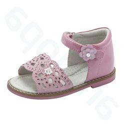 29553cf6d Туфли открытые, Антиопа, розовые, натуральная кожа, липучка, р.22-