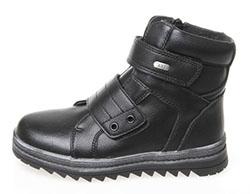 6fac46cc4 Ботинки зимние, Сказка, черные, комб.кожа, нат.шерсть, липучка